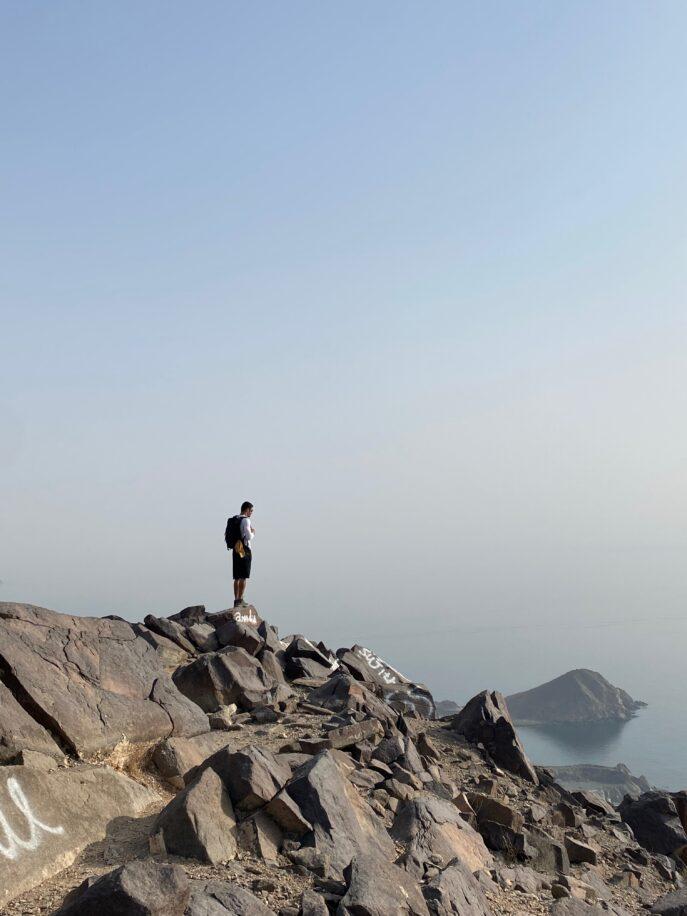 Hiking Khorfakan